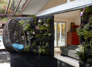 Some examples of incorporating greenery into the home.