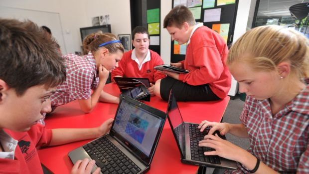 How to get our children to put down their digital devices? Send them to a school where they are banned.