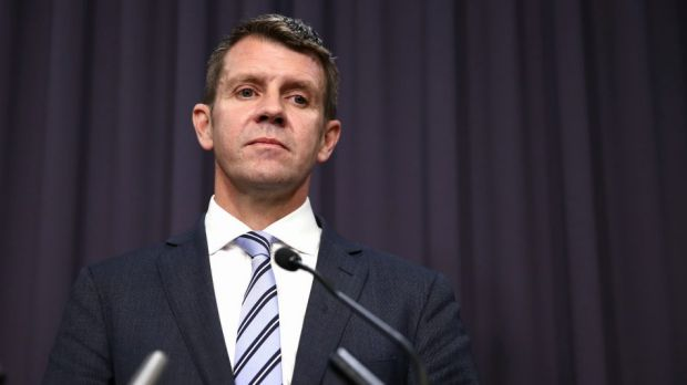 "Premier Mike Baird has told Mr Hazzard to ""work out how this can be done""."