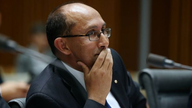 Department of Foreign Affairs boss Peter Varghese reminds staff they are public servants.