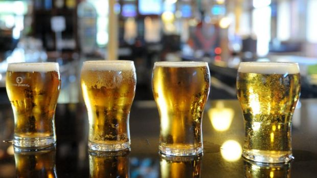 Analysis shows alcohol consumption has dropped between 2001 and 2013 among all but the heaviest drinkers.