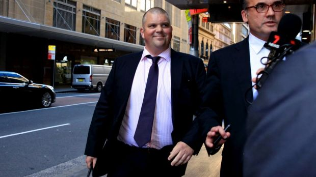 Nathan Tinkler arrives at the Independent Commission Against Corruption on Thursday.
