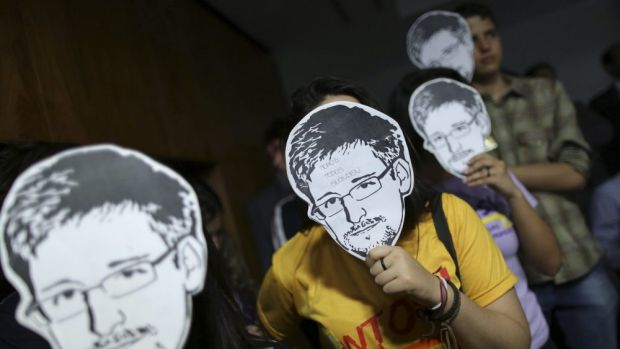 Defend your privacy: Snowden is calling on people to protect their rights online.