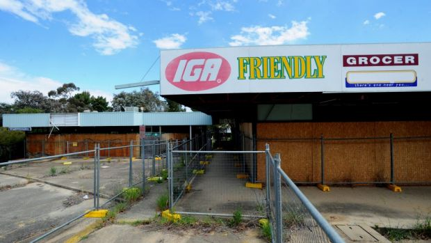 Retailers challenged the redevelopment of the derelict Giralang shops in the High Court.