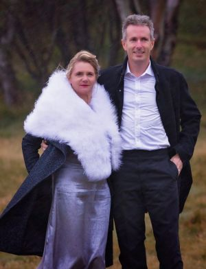 Martin and Sandra Fisk went ahead with their marriage in the mountains on May 3.