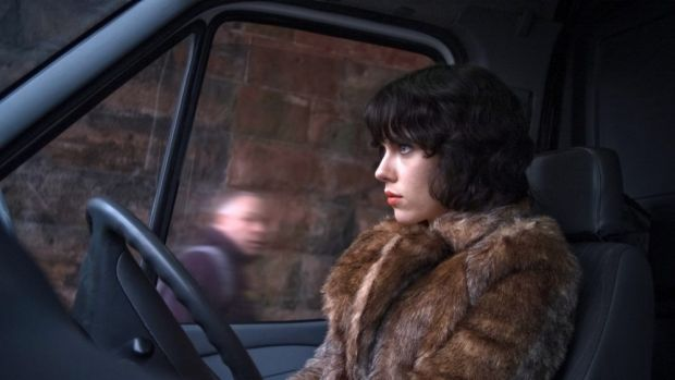 Luring men: Scarlett Johansson in Under the Skin.