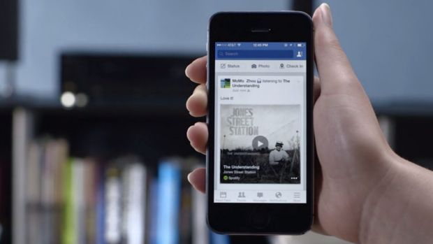 Listen up: Facebook's new feature automatically detects what you are listening to or watching.