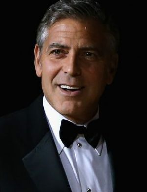 George Clooney: No longer a bachelor.