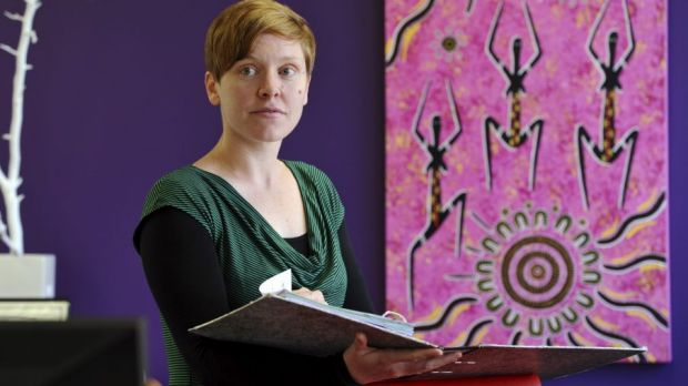 Executive director Heidi Yates says the Women's Legal Centre will have to knock back about 500 requests for help over ...