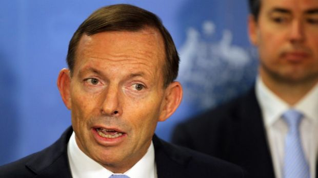 Another about-turn for Tony Abbott.