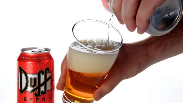 A a new Duff beer is launching in Australia.
