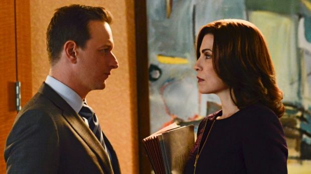 Breaking ground: Alicia (Julianna Margulies) and Will (Josh Charles) in <i>The Good Wife</i>, a show that is setting new ...