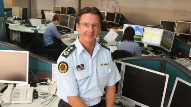 Corrupt finding: SES Commissioner Murray Kear.