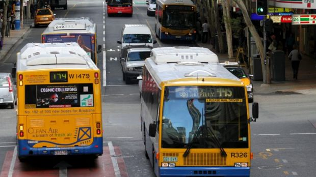 A Brisbane City Council bus driver has been accused of making racist remarks toward a passenger.