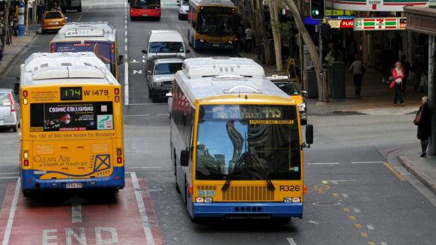 Brisbane bus drivers decided to strike on Tuesday and Wednesday mornings.