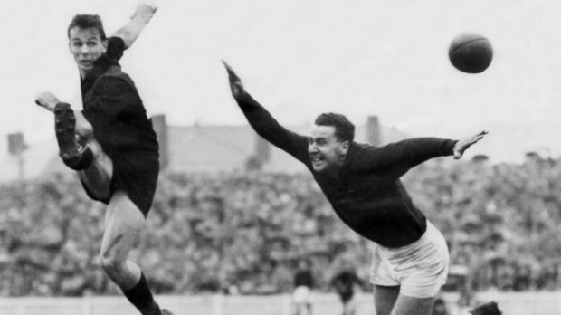 John Coleman in action in his hey day