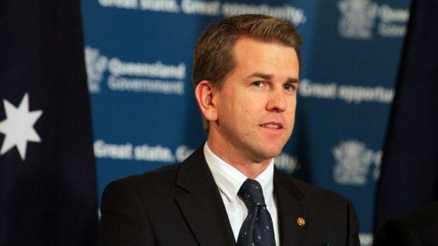 Former Queensland Attorney-General Jarrod Bleijie.