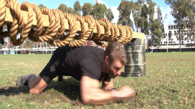 Trainer Lee Campbell, the ambassador for both Tough Mudder and Soldier On.