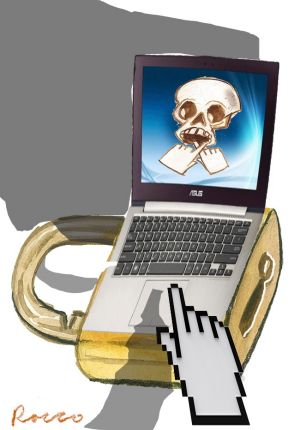 Achtung: seniors are vulnerable to cyber scammers.