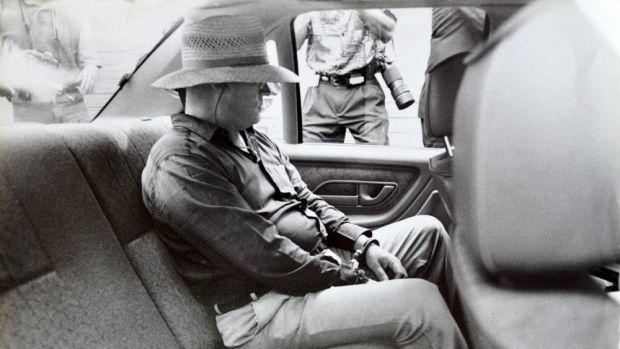 David Harold Eastman shortly after his arrest in 1992.