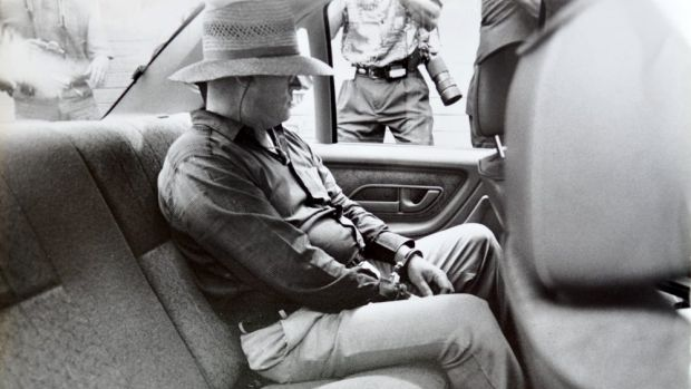 David Harold Eastman shortly after his arrest in 1992.