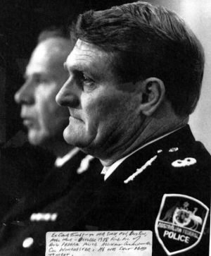 Colin Winchester was Assistant Commissioner of the Australian Federal Police was shot dead in his car in 1989.