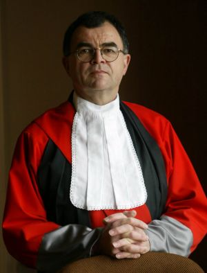Acting Justice Brian Martin.