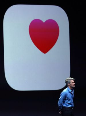 Apple's Craig Federighi expressed the company's plan to keep all the different health information in your phone from ...