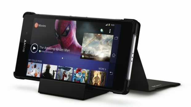 Less fanfare: Sony's Xperia Z2 was a key recent release from the company.