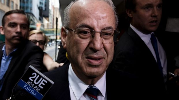 Eddie Obeid, found by the ICAC to have acted corruptly.
