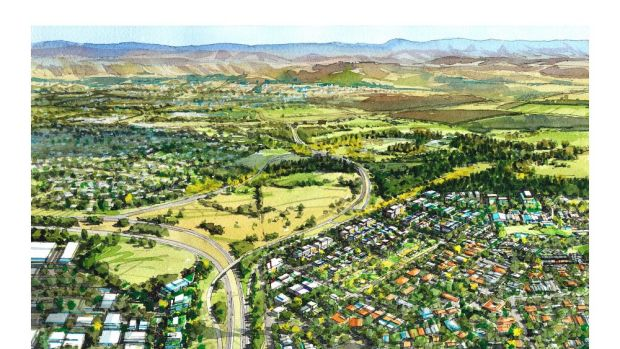 A proposed $100 million interchange designed to ease traffic on Adelaide Avenue has been scrapped following the ...