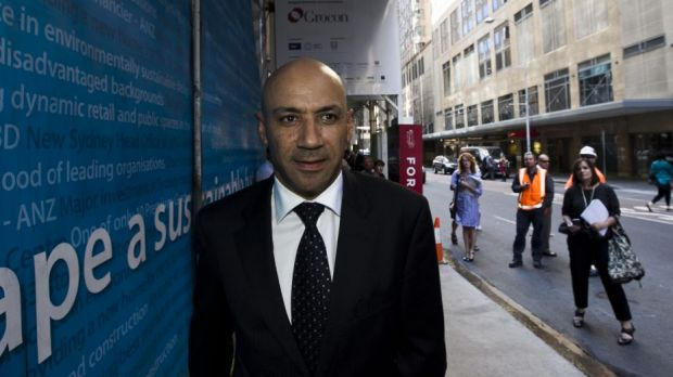 Investigation: Moses Obeid pictured in Sydney.