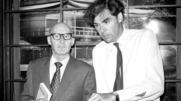 Kenneth Gee (left) and Professor David Armstrong, pictured at a press conference for The Friends Of Vietnam at the Rex ...