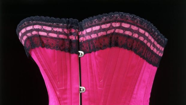 IT'S A CINCH: Corset, unknown, 1890-1895.