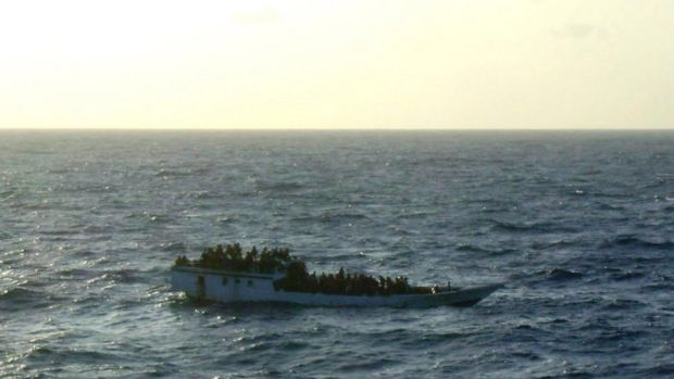 Search and rescue staff can be deeply stressed by the deaths of asylum seekers, Mr Young says.