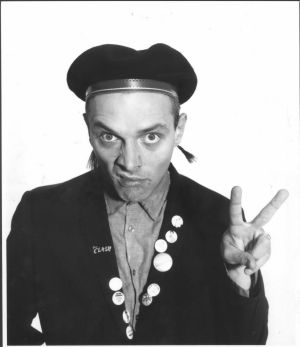 Rik Mayall as Rick in The Young Ones.