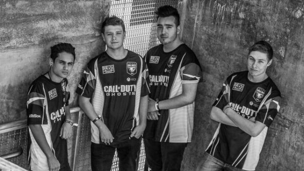 Call of Duty eSports team T1 Dotters.