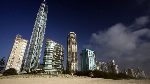 Tourists and long-term tenants are a bad mix for Gold Coast highrises.