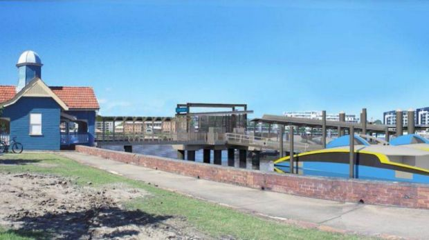 The Hawthorne ferry terminal is set to be upgraded next year.