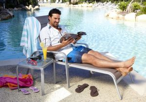 Mr Nice Guy: Pat Rafter has re-signed with Mantra Hotels.