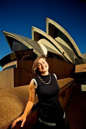 On the look for a new Bennelong restuarant: Louise Herron, Chief Executive Officer at the Sydney Opera House.