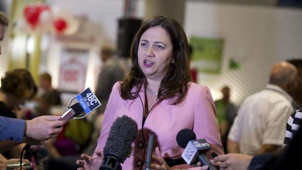 Annastacia Palaszczuk says Labor will reverse the government's changes to donation declarations if it wins government.