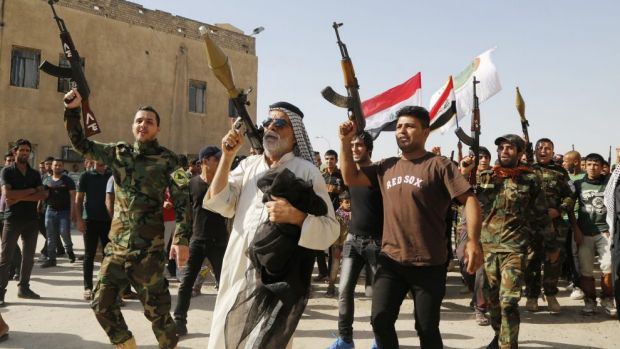 When a country is deeply and fundamentally divided, the answer is to divide it up: Iraq.