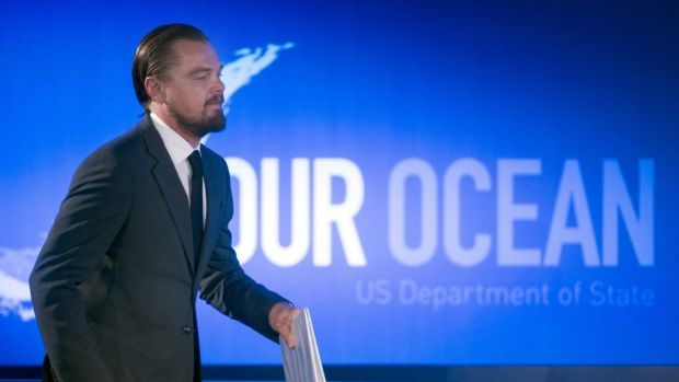 DiCaprio's reef 'utopia' is gone.