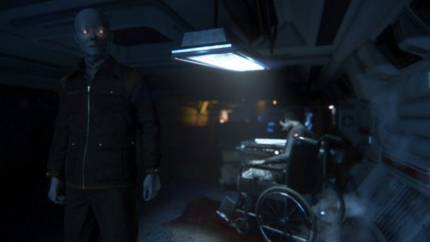 A screen from <i>Alien: Isolation</i>.