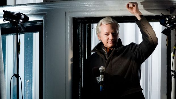 Julian Assange: 'The Australian government is not just gagging the press, it is blindfolding the public.'