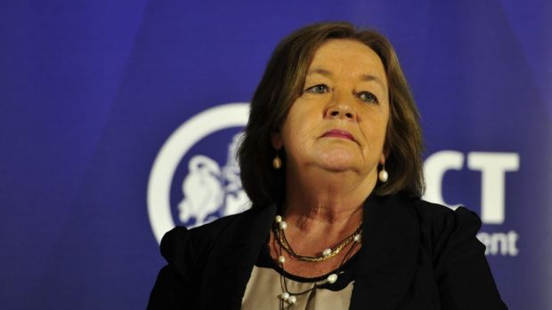 No confidence motion: The Canberra Liberals say Joy Burch should be sacked.