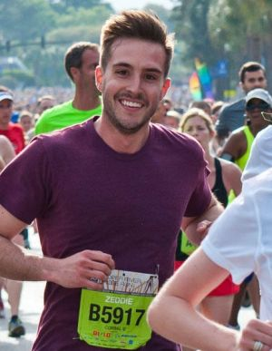 "Zeddie Little: the ""ridiculously photogenic"" runner who became a meme."