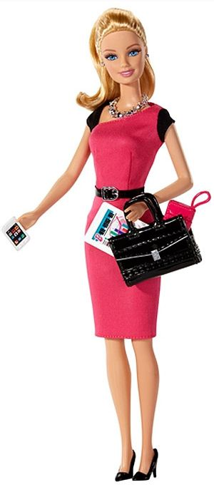 Mattel's latest release, Entrepreneur Barbie.