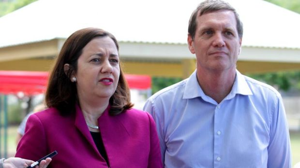 Dr Anthony Lynham and opposition leader Annastacia Palaszczuk have copped a blast from Premier Campbell Newman.